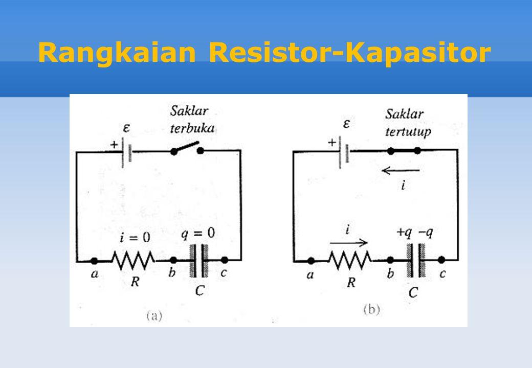 Rangkaian Resistor-Kapasitor
