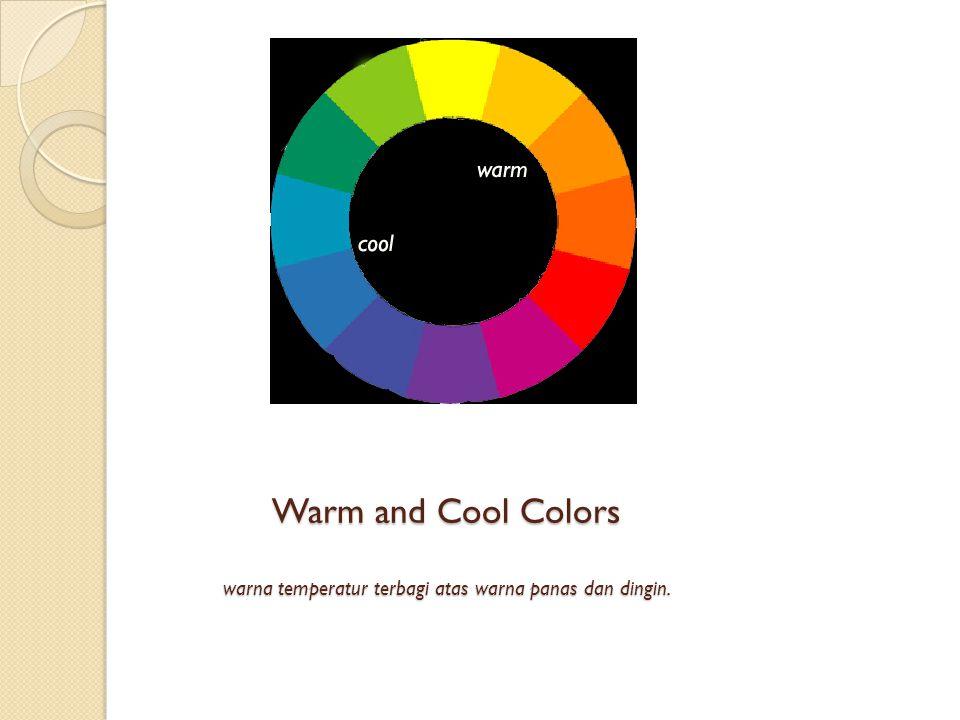 Warm and Cool Colors warna temperatur terbagi atas warna panas dan dingin.
