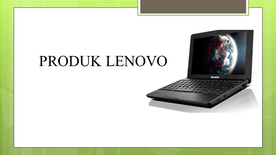 Lenovo Laptop Lenovo yang dibekali dengan rd Intel Core i5 3210M dengan layar 14 inc akan membuat pengguna lebih nyaman saat menatap layar monitor.