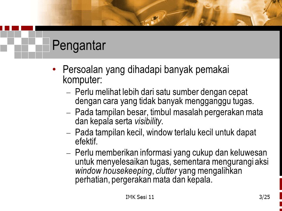 IMK Sesi 1124/25 Window dan Web ( Lanj.