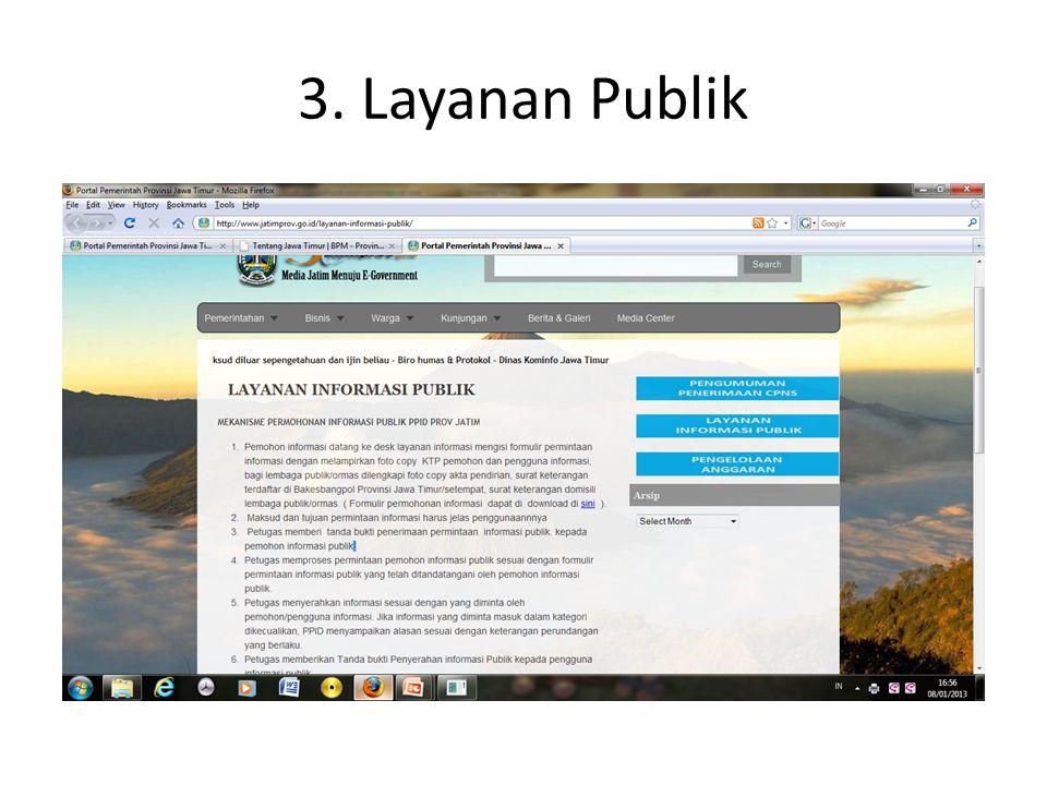 3. Layanan Publik