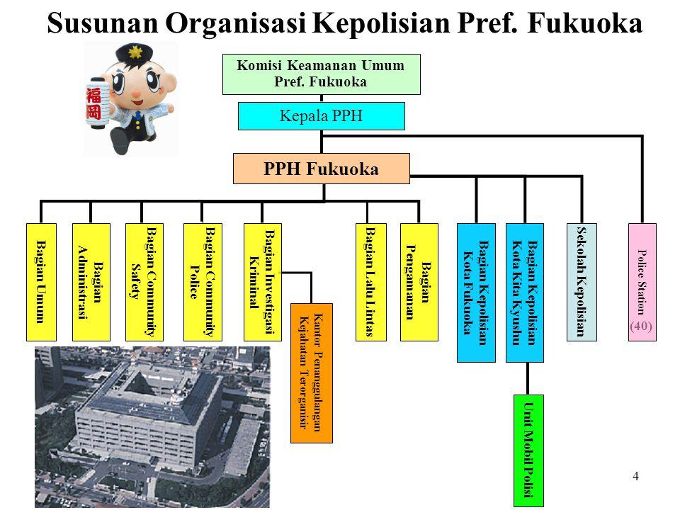 4 Susunan Organisasi Kepolisian Pref.
