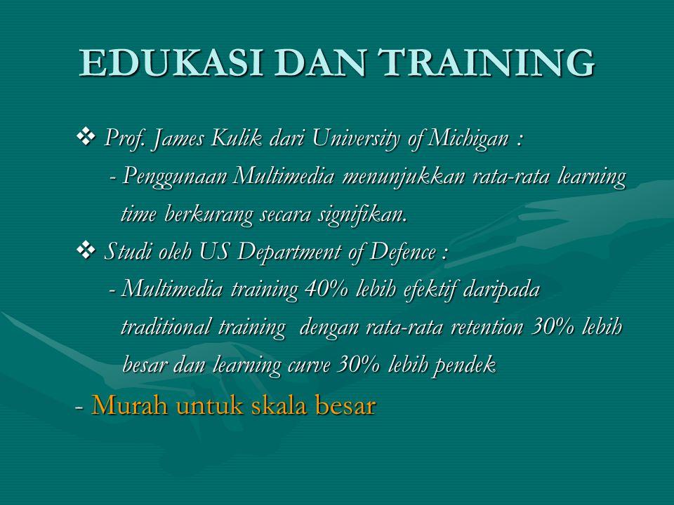 EDUKASI DAN TRAINING  Prof.
