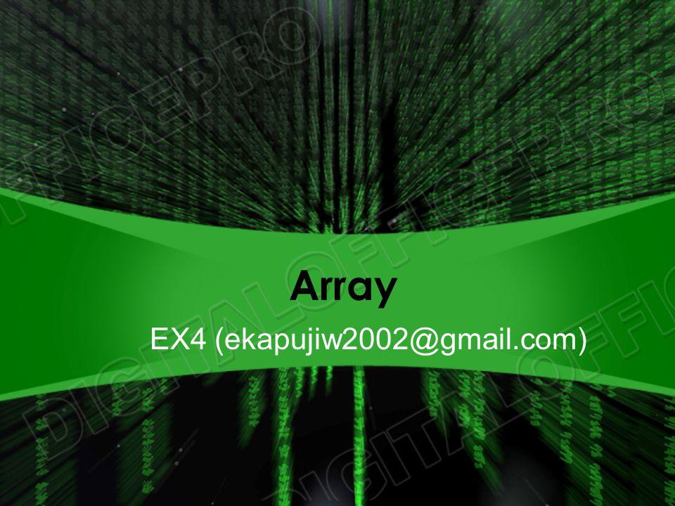Array EX4 (ekapujiw2002@gmail.com)