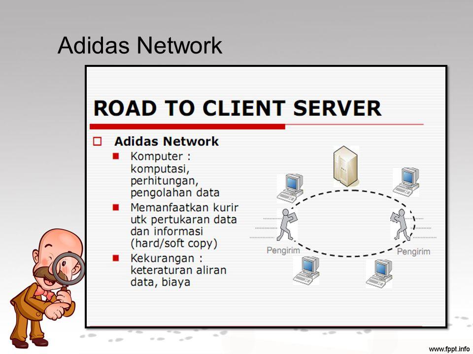 Middleware Merupakan komponen perantara yang memungkinkan client dan server untuk saling terhubung dan berkomunikasi satu dengan yang lain.