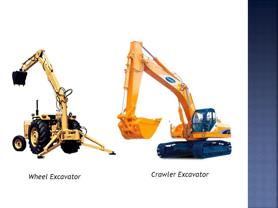 Wheel Excavator Crawler Excavator