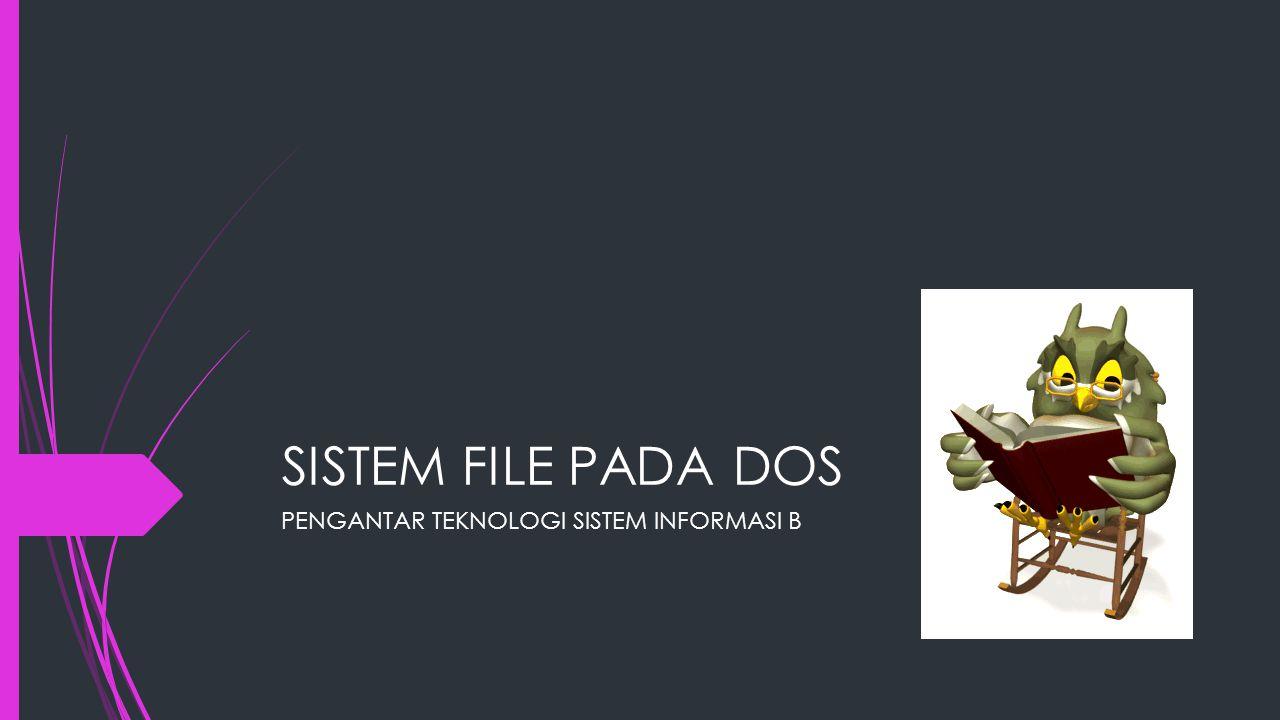  Ketika file diOpen, sistem operasi mencari directorynya sampai ditemukan nama file ybs, kemudian mengekstrak atribut dan alamat disk langsung dari daftar directory atau dari struktur data yang menunjukkannya, lalu meletakkan kedalam tabel didalam memory kerja.