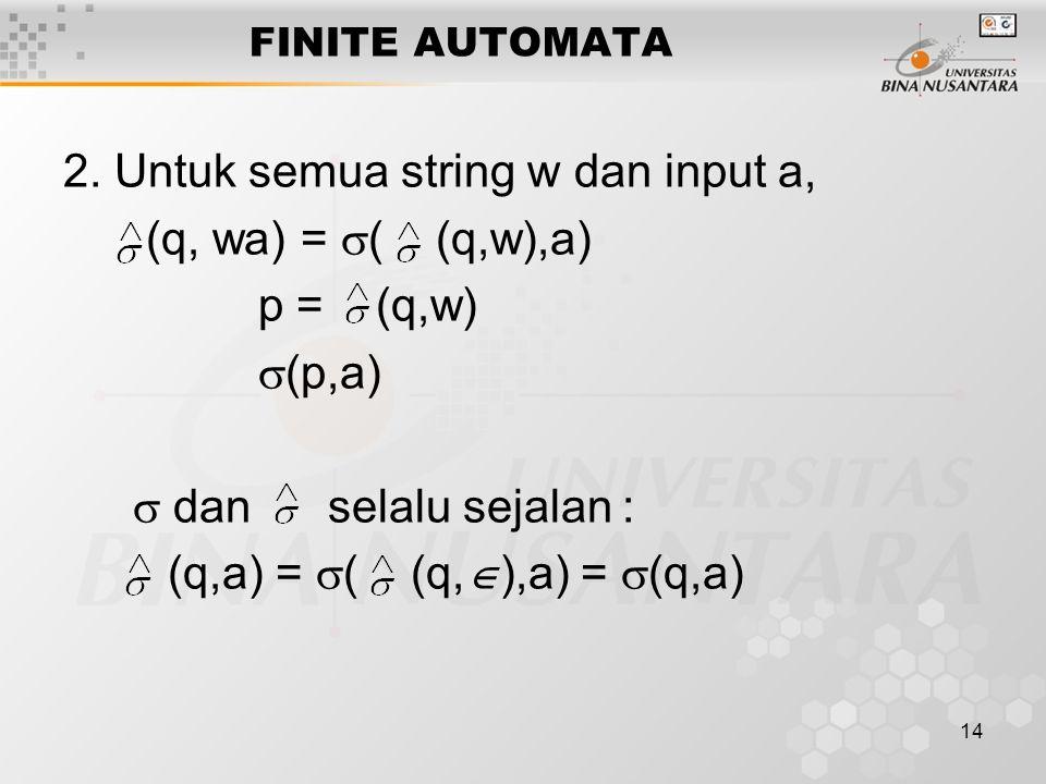14 FINITE AUTOMATA 2.