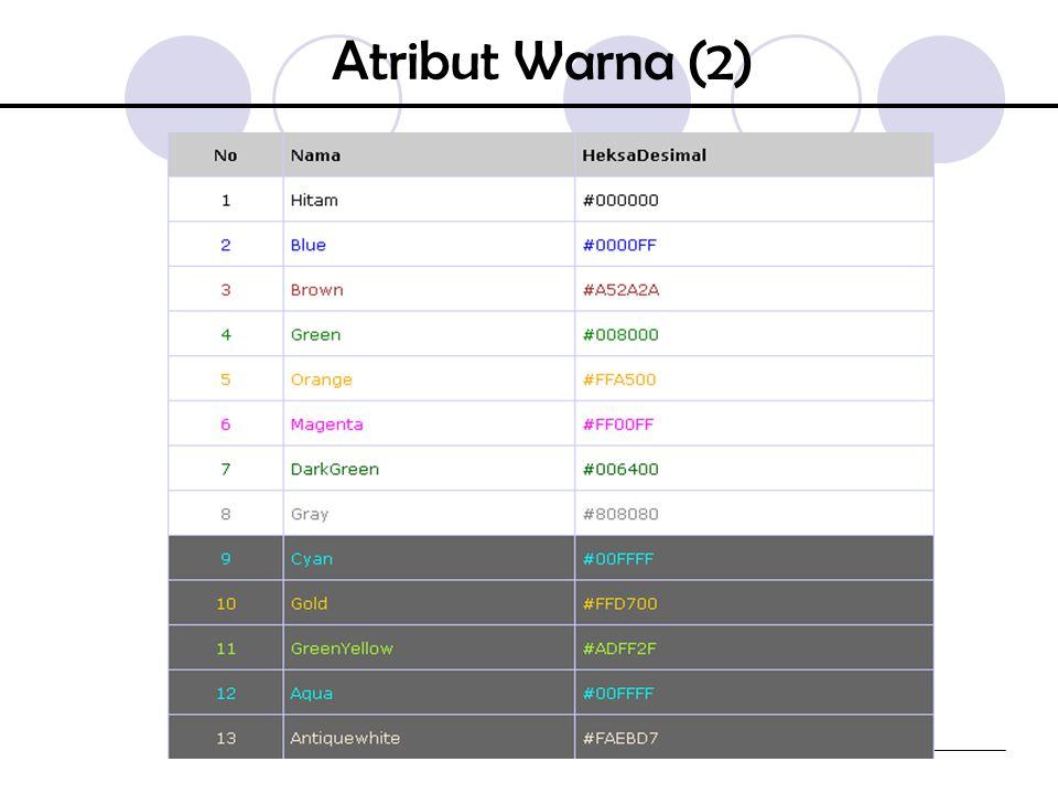 Atribut Warna (2)