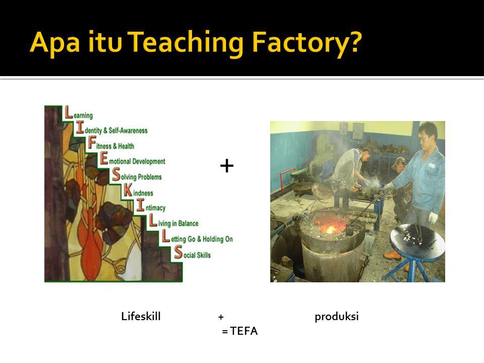 + Lifeskill + produksi = TEFA