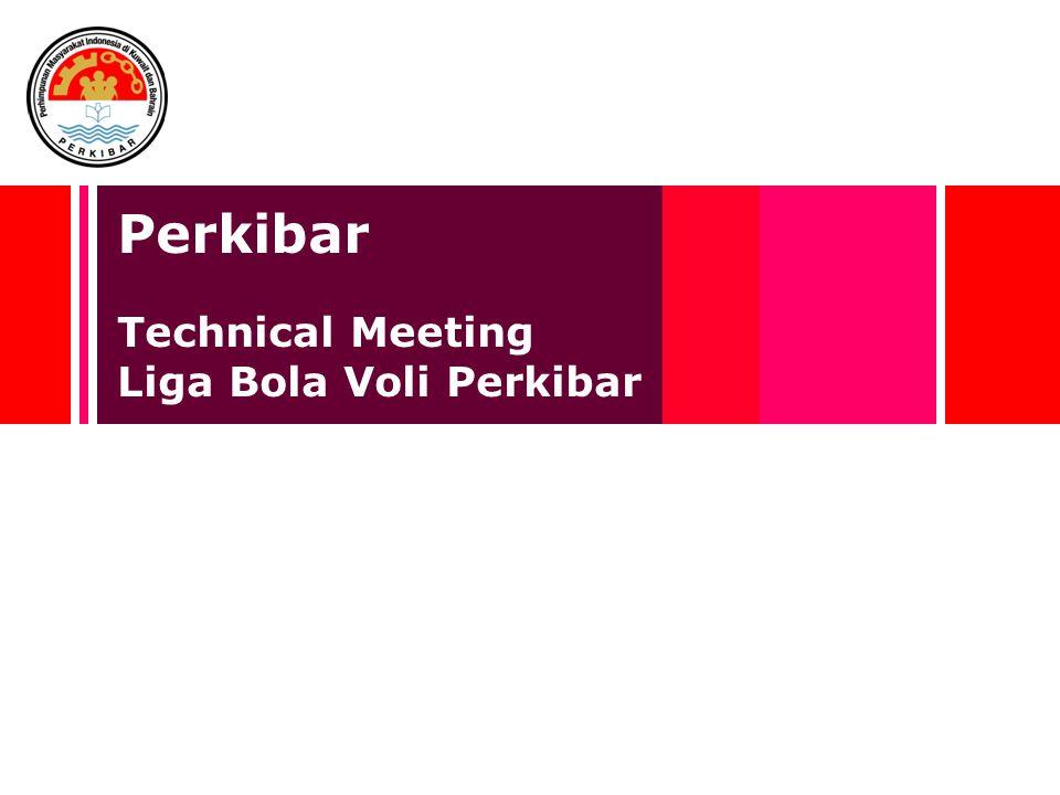 Perkibar Technical Meeting Liga Bola Voli Perkibar