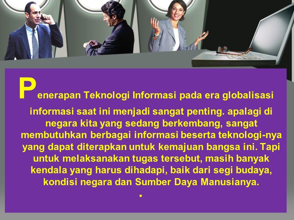 Kontribusi Teknologi Informasi dalam pembelajaran.