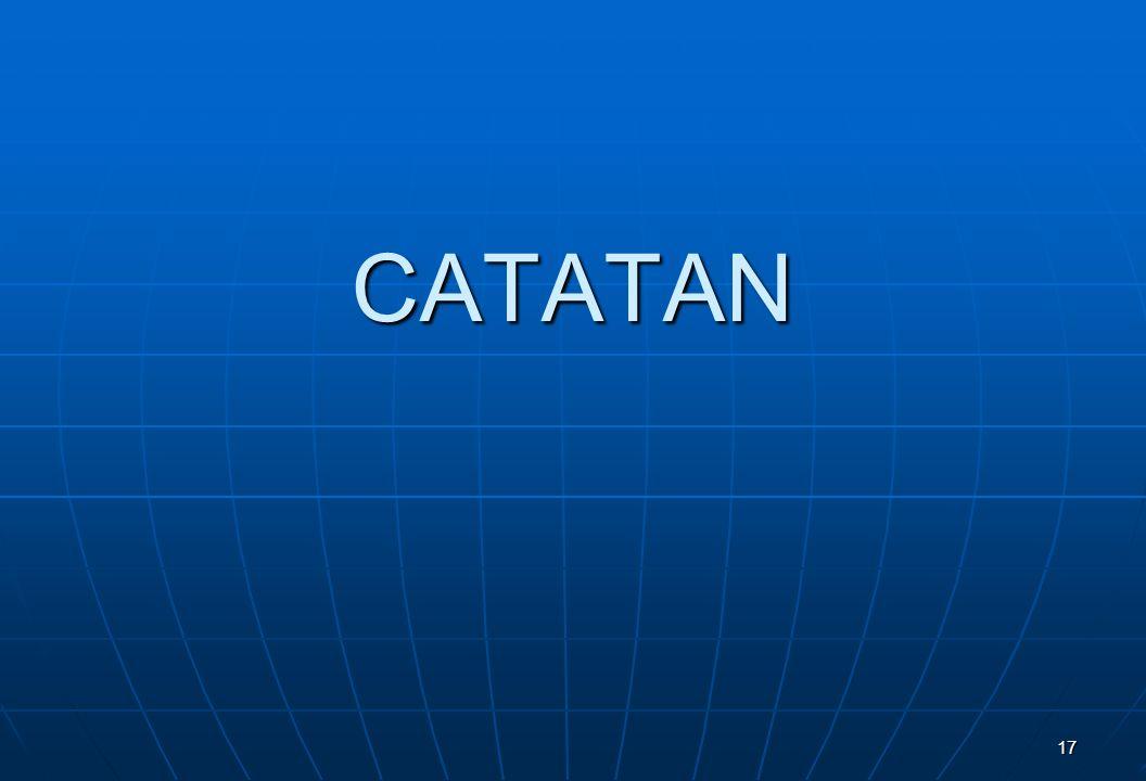 CATATAN 17
