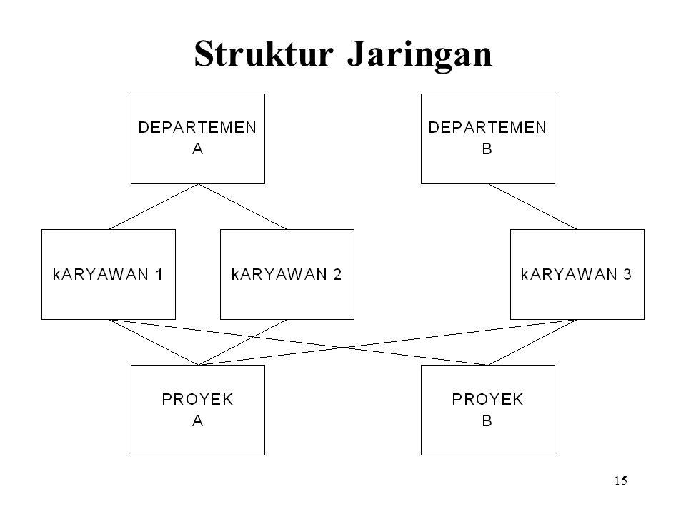 15 Struktur Jaringan