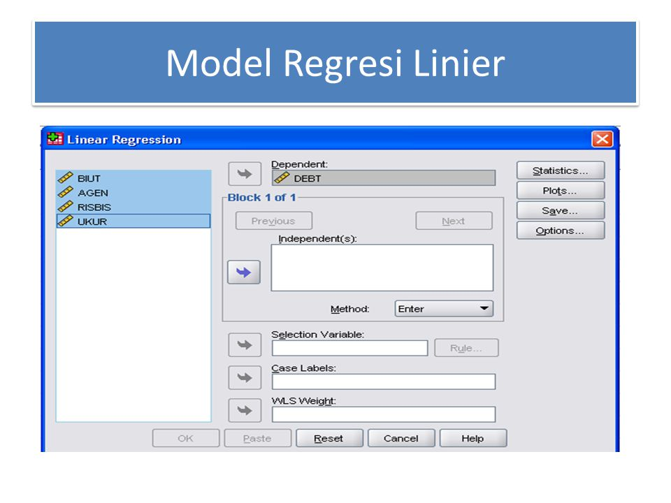 Hasil Analisis Model Summary ModelRR Square Adjusted R Square Std.