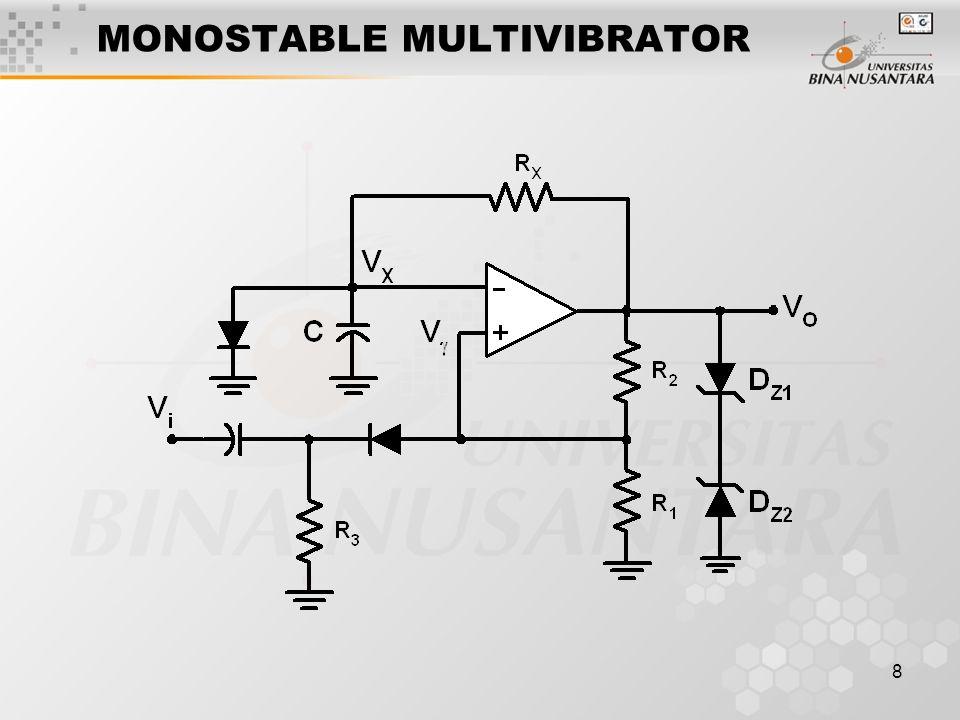 8 MONOSTABLE MULTIVIBRATOR
