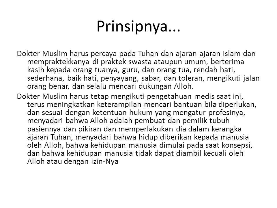 Prinsipnya...