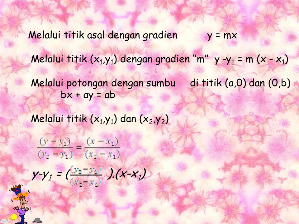 Pertidaksamaan linier (pangkat satu) Adalah pertidaksamaan yang salah satu atau kedua ruasnya mengandung bentuk linier dalam x.