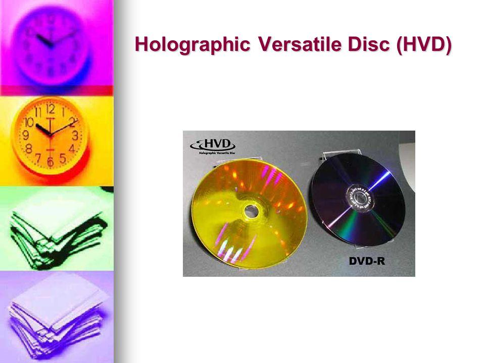 Holographic Versatile Disc (HVD)