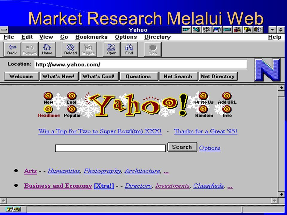 Market Research Melalui Web