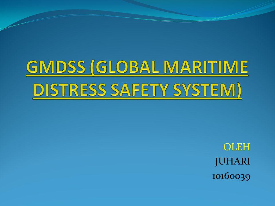 GMDSS adalah suatu paket keselamatan yang disetujui secara internasional yang terdiri dari prosedur keselamatan, jenis- jenis peralatan, protokol-protokol komunikasi yang dipakai untuk meningkatkan keselamatan dan mempermudah saat menyelamatkan kapal, perahu, ataupun pesawat terbang yang mengalami kecelakaan.
