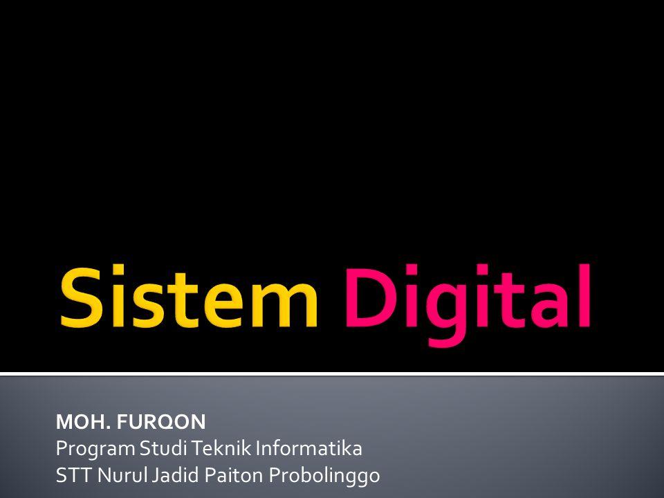 MOH. FURQON Program Studi Teknik Informatika STT Nurul Jadid Paiton Probolinggo