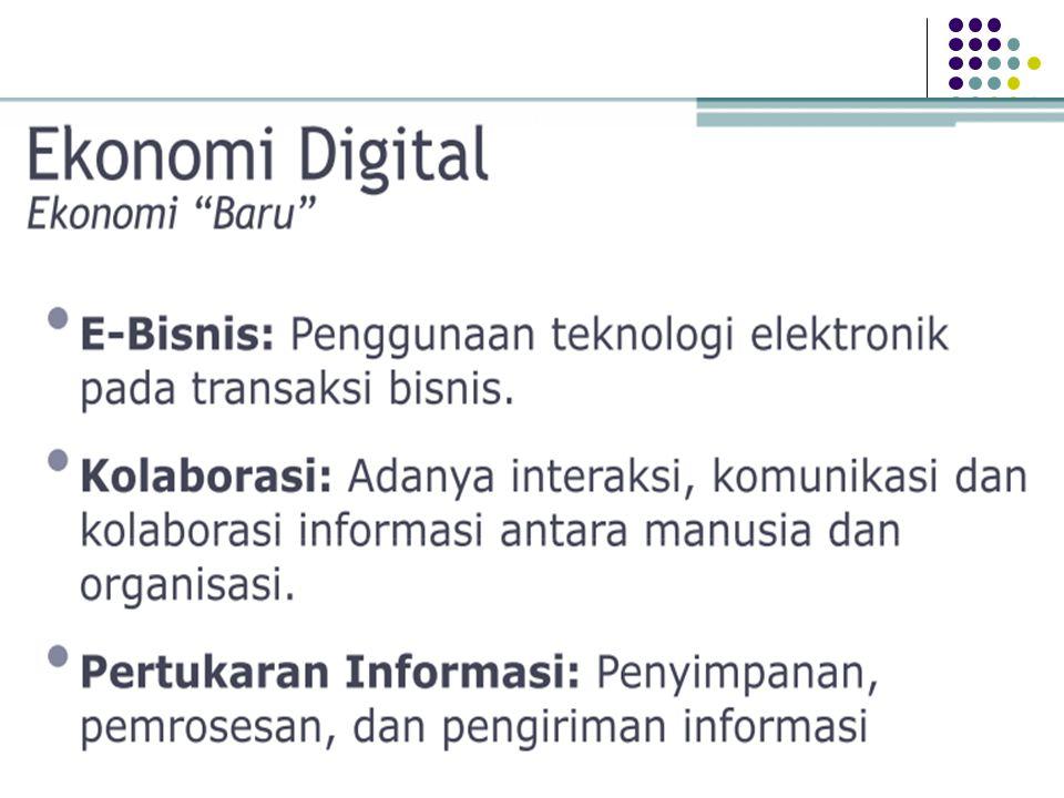 E-Commerce merupakan suatu aplikasi dan proses bisnis yang menghubungkan perusahaan, konsumen dan komunitas tertentu melalui transaksi elektronik dan perdagangan barang, pelayanan dan informasi yang dilakukan secara elektronik.