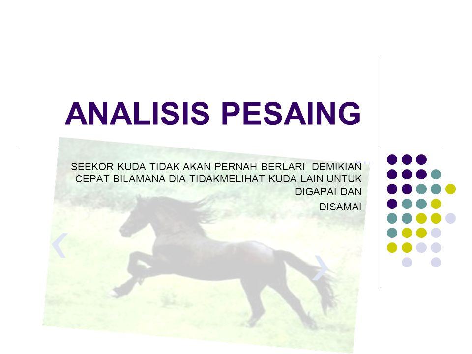 Analisis Rantai Nilai Menggambarkan bagaimana proses penciptaan nilai melalui rantai nilai antar kegiatan perusahaan.