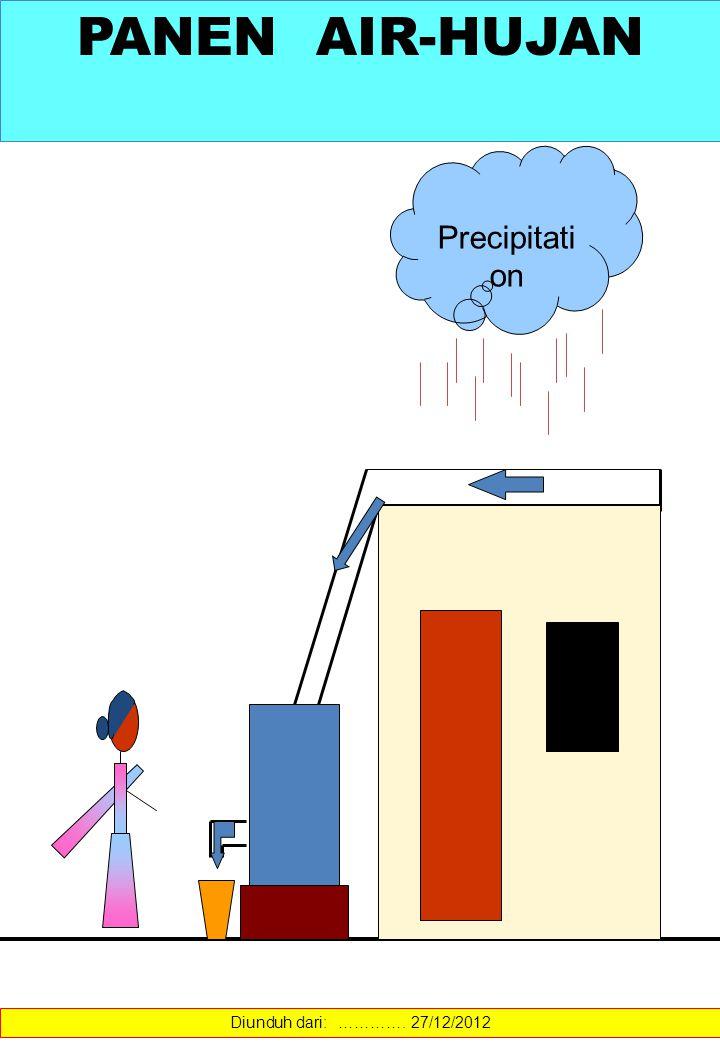 Precipitati on PANEN AIR-HUJAN Diunduh dari: …………. 27/12/2012