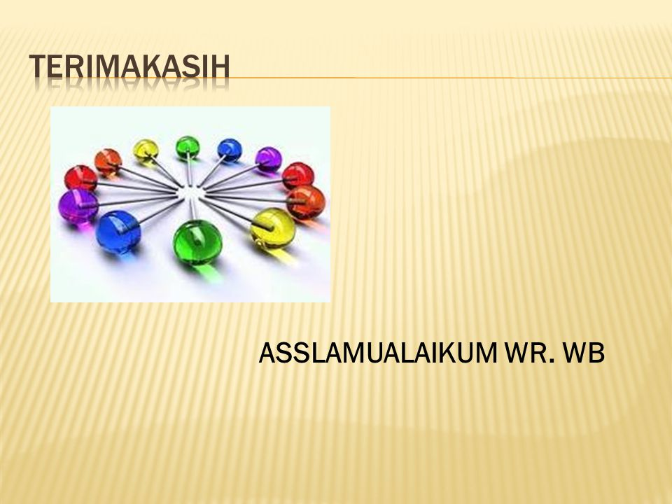 ASSLAMUALAIKUM WR. WB