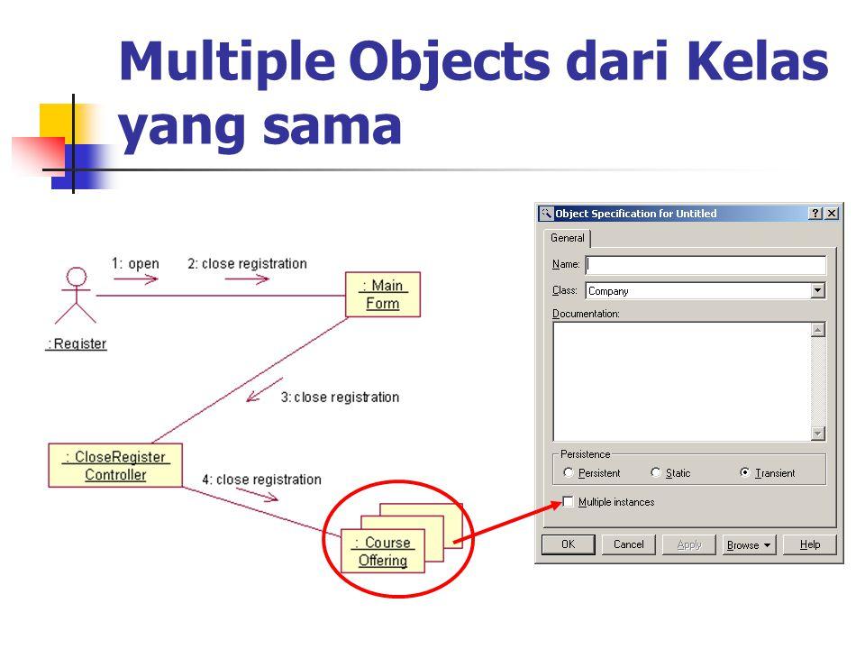 Multiple Objects dari Kelas yang sama