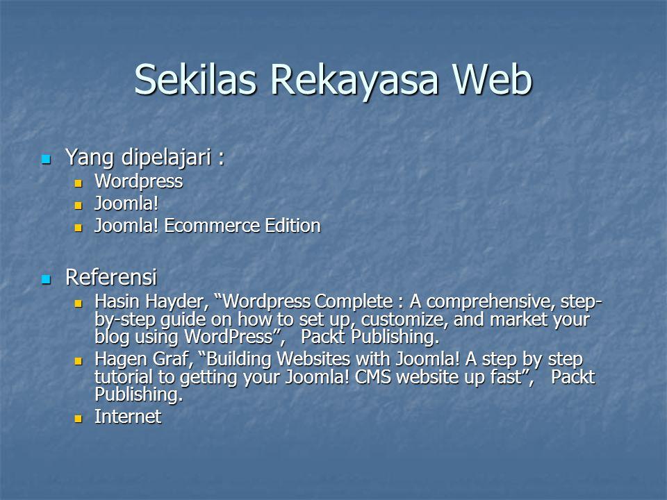 Pengenalan Blog A blog (web log) is a website where entries are written in chronological order and displayed in reverse chronological order.