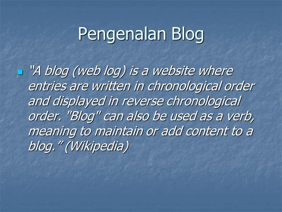 Fitur Wordpress Dukungan kategori dan sub kategori posting yang tak terbatas.