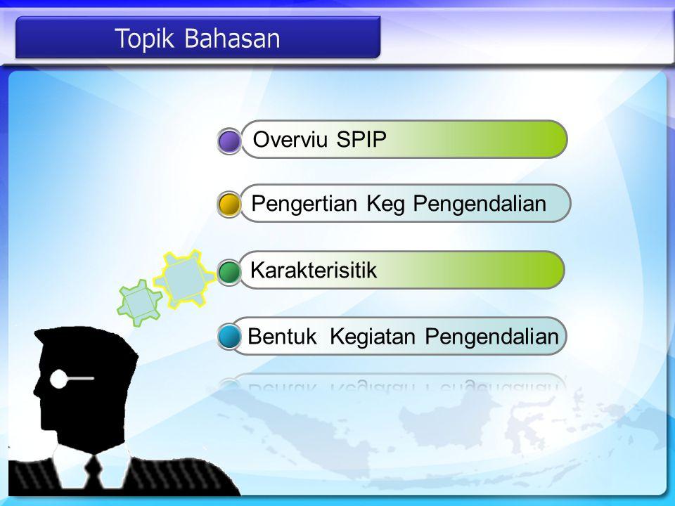 Pengertian Keg PengendalianKarakterisitikOverviu SPIP