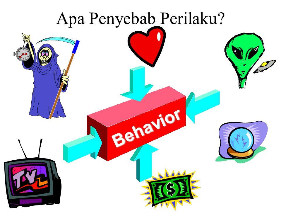 Apa Penyebab Perilaku?Behavior