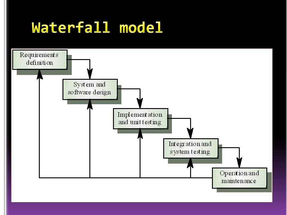 ketika semua kebutuhan sistem dapat didefinisikan secara utuh, eksplisit, dan benar di awal project, maka Software Engineering dapat berjalan dengan baik dan tanpa masalah.