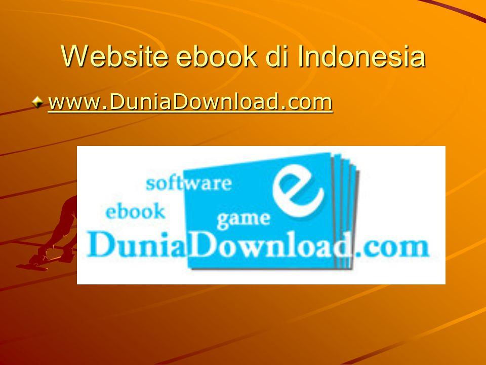 Website ebook di Indonesia www.DuniaDownload.com