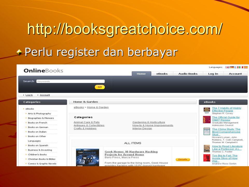 http://booksgreatchoice.com/ Perlu register dan berbayar