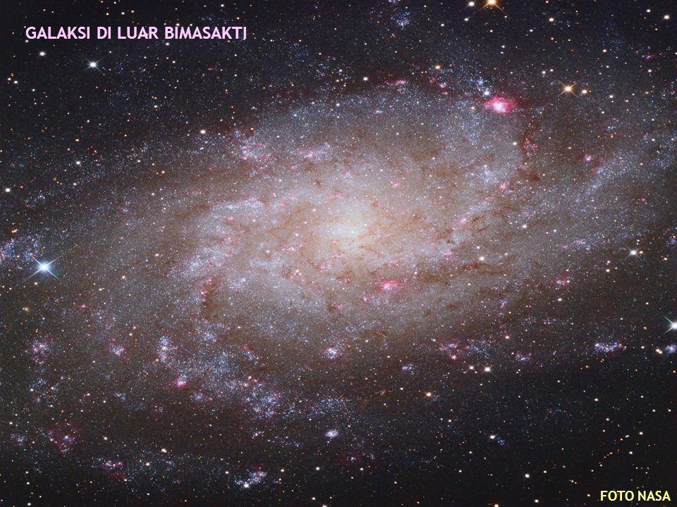 GALAKSI DI LUAR BIMASAKTI FOTO NASA