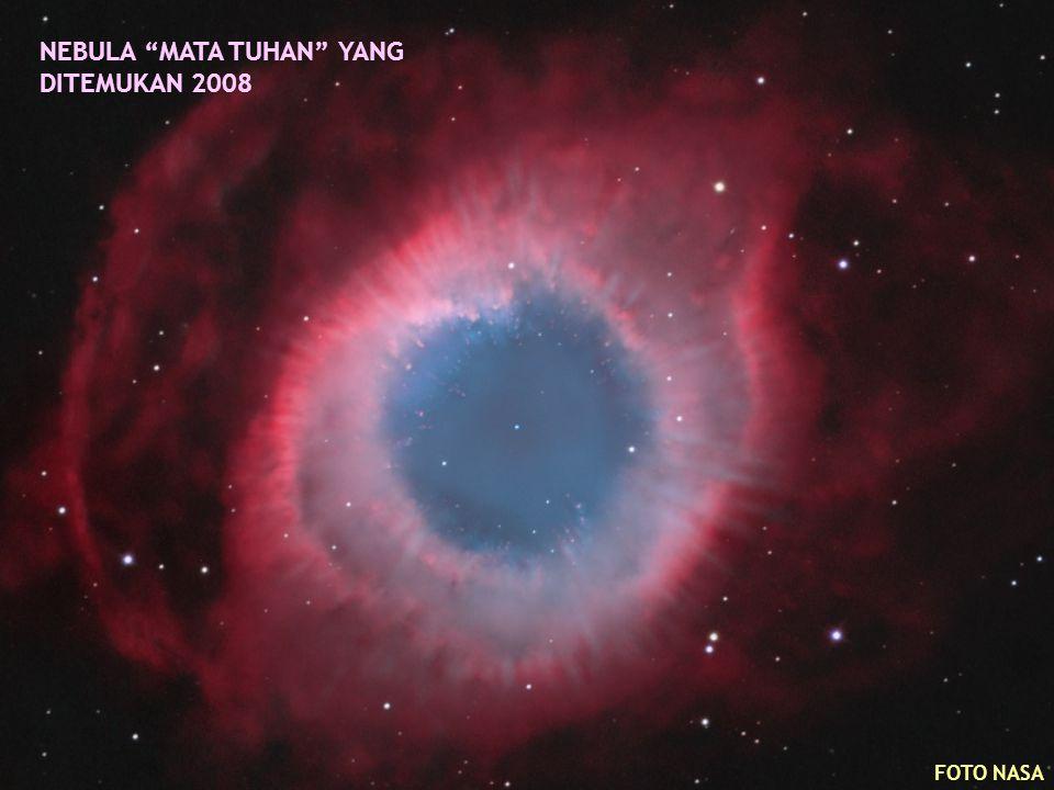 """NEBULA """"MATA TUHAN"""" YANG DITEMUKAN 2008 FOTO NASA"""