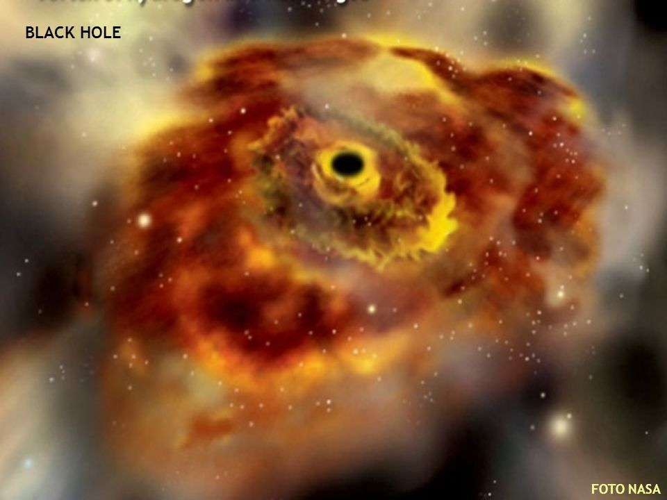 BLACK HOLE FOTO NASA