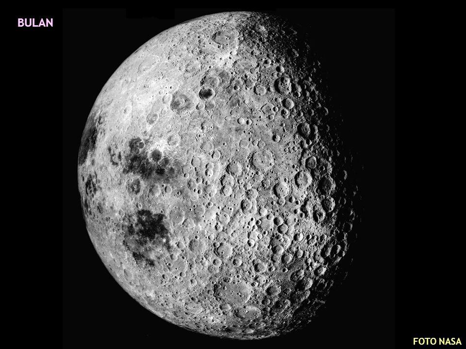 PERMUKAAN BULAN FOTO NASA