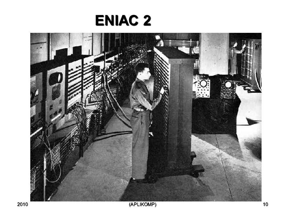2010 10 ENIAC 2