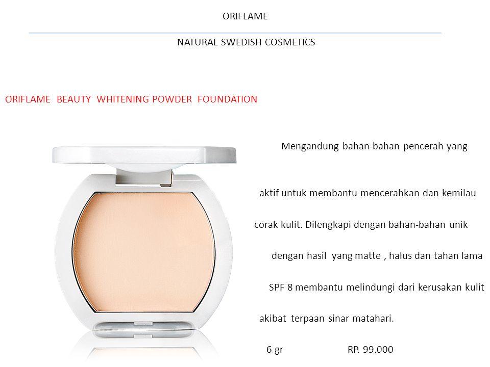 ORIFLAME NATURAL SWEDISH COSMETICS Oriflame Beauty 2FX Mascara - Black Panjang atau volume: 2 efek dalam 1 maskara.