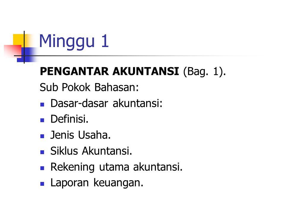 Minggu 2 PENGANTAR AKUNTANSI (Bag.2).