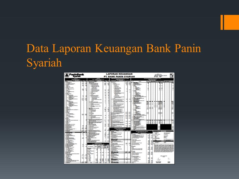 Data Laporan Keuangan Bank Panin Syariah