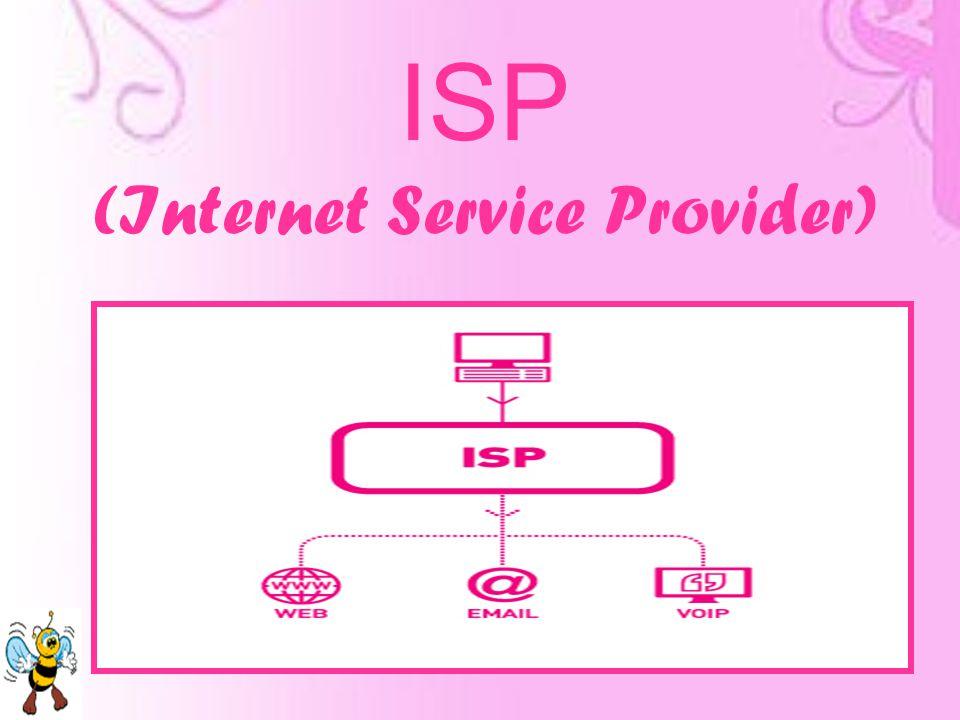 Definisi ISP Sejarah ISP di Indonesia ISP yang Ada di Indonesia Jenis Layanan ISP Biaya Akses Internet