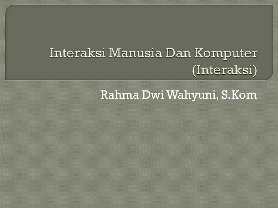 Rahma Dwi Wahyuni, S.Kom