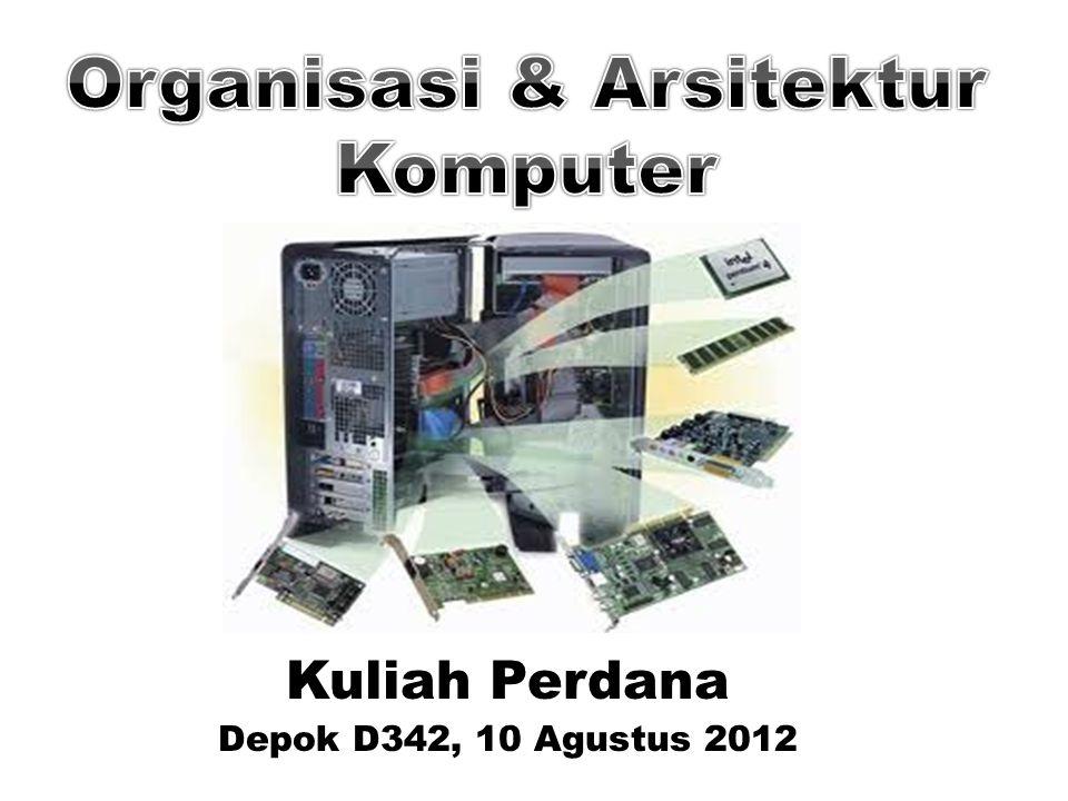 Kuliah Perdana Depok D342, 10 Agustus 2012