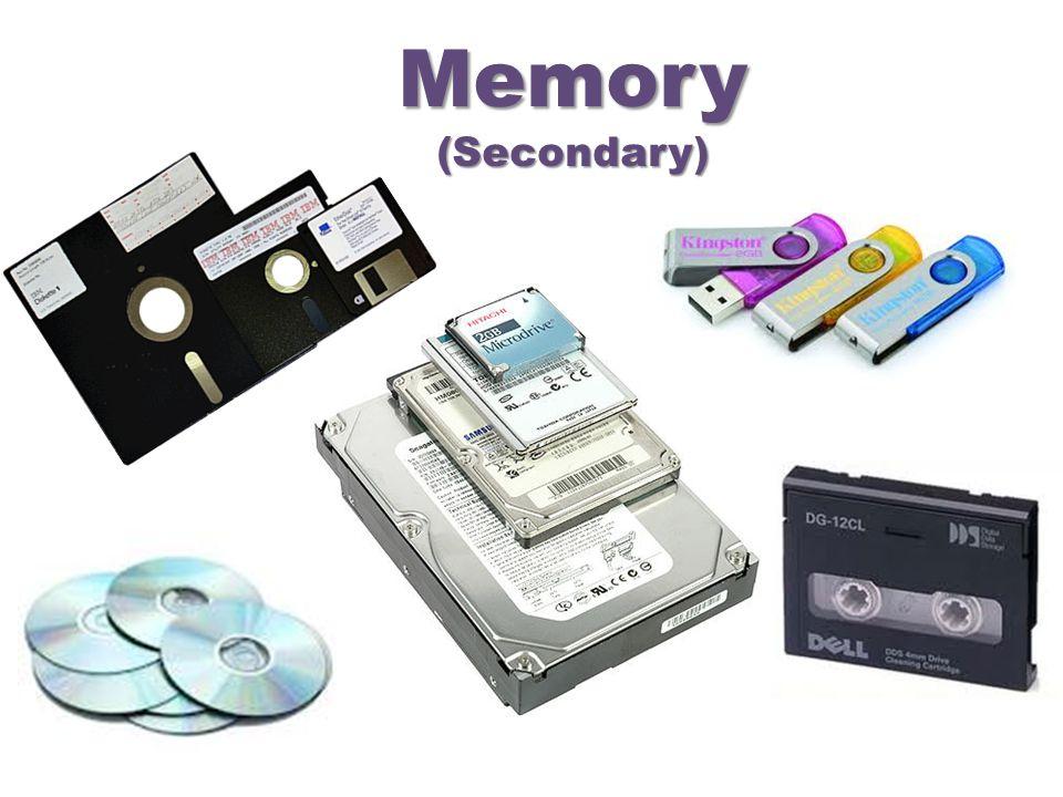 Memory(Secondary)
